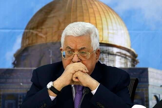 Palestinian president urges 'review' of all past agreements with ?Israel