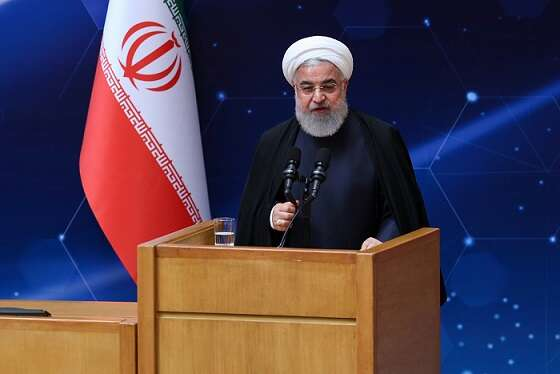 Iran s rouhani slams israel elections as meaningless
