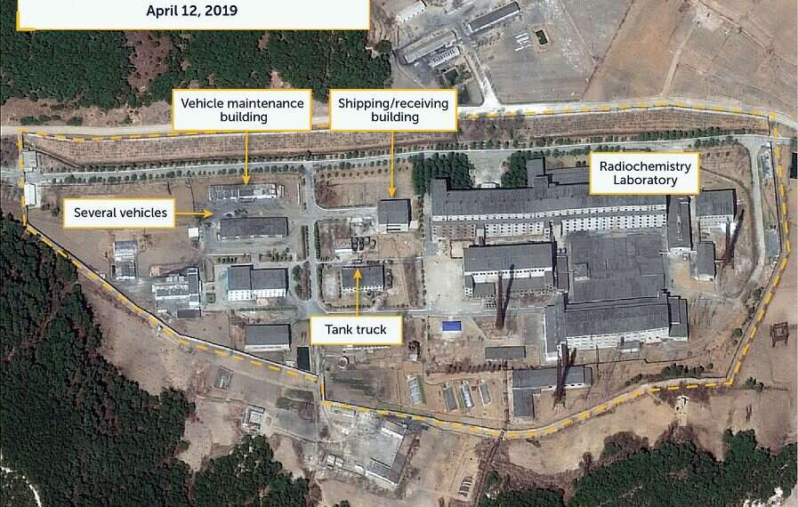 Satellite Images May Show Reprocessing Activity At North