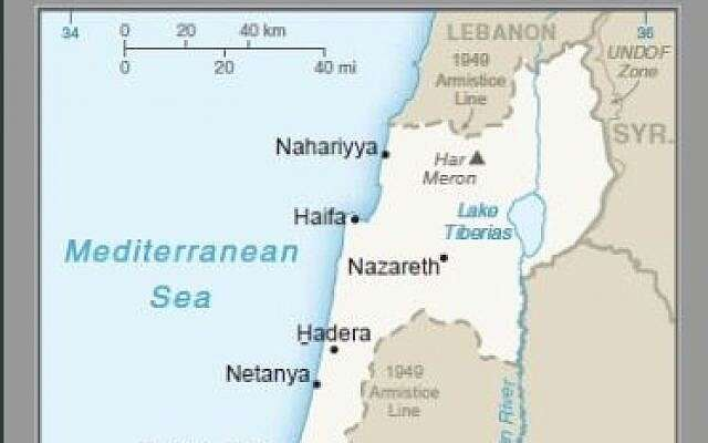 In first, US publishes official map with Golan Heights as part of Israel