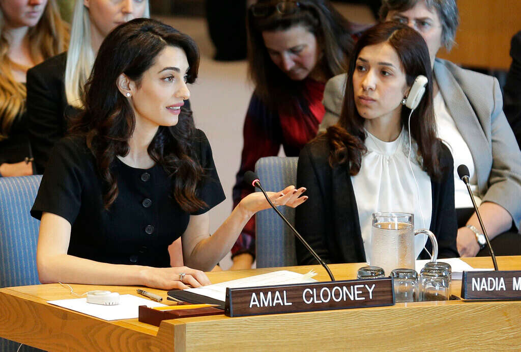 Amal Clooney: Prosecute Islamic State extremists for rape