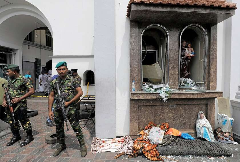 World leaders send messages of support to Sri Lanka following bombings