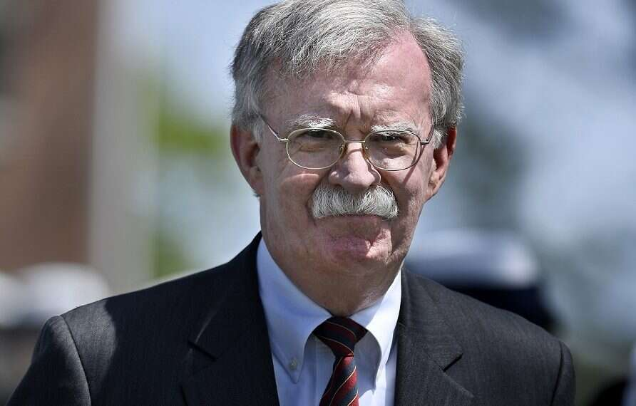 In UAE, Bolton accuses Iran of seeking nuclear weapons