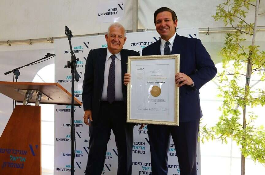 Florida governor forges new ties, makes history on Israel visit