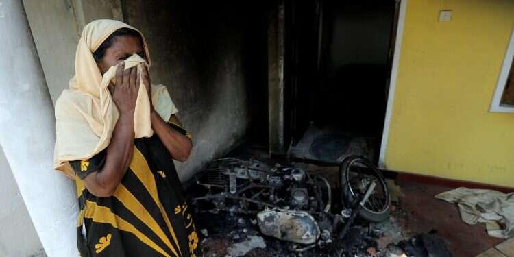 Sri Lankan police arrest dozens over violent mob attacks prompted by Easter bombings