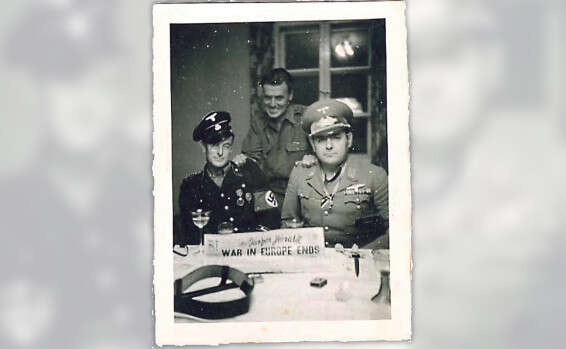 A Jew in SS uniform