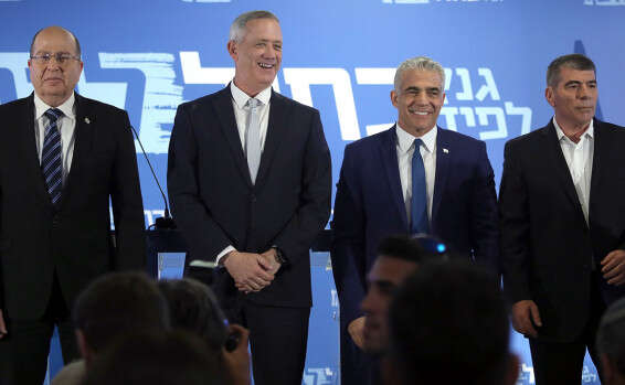 Indecisive Gantz holding Blue and White back, party officials say