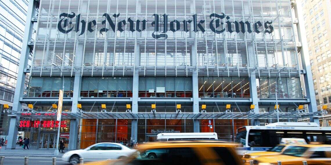 New York Times Global Edition To Scrap Daily Political Cartoons Amid