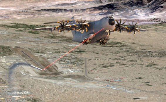 Israeli laser system to protect NATO tanker transport