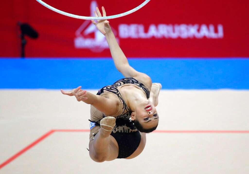 Resultado de imagem para rhythmic gymnastics minsk 2019