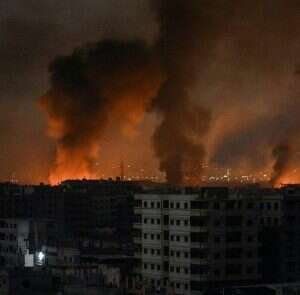 Syrian state TV reports Israeli attack in southern Syria - www.israelhayom.com
