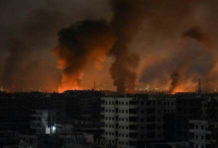 Syrian TV reports Israeli attack on targets in country's south