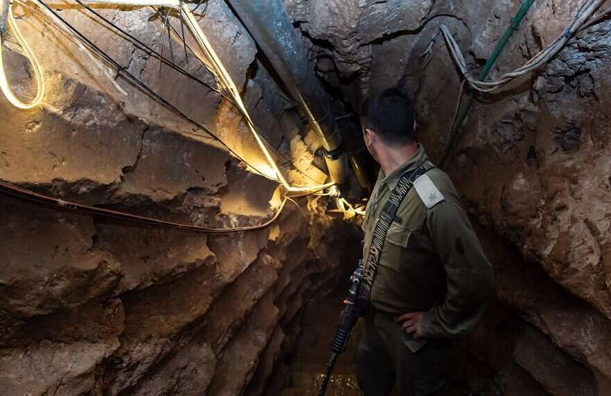 Hezbollah's largest attack tunnel and its financial supporters