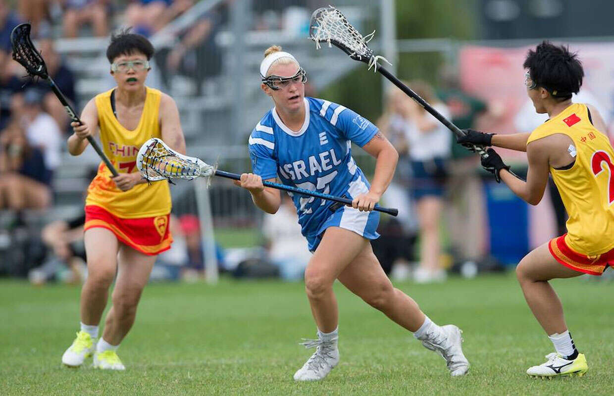 International lacrosse competition cradles its way to Israel