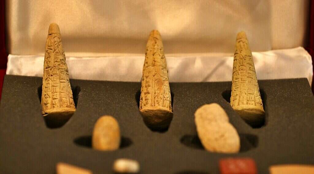 Iraq displays stolen artifacts recovered from UK, Sweden - www