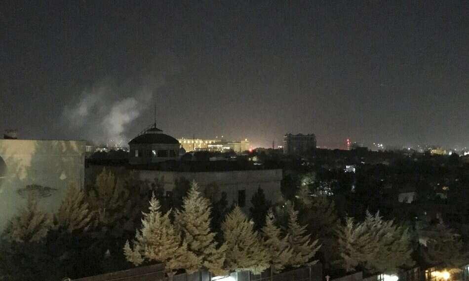 Une fusée explose à l'ambassade américaine à Kaboul à l'occasion du 11 septembre