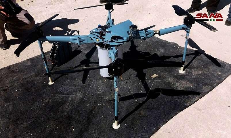 IDF: Un drone armé abattu par les forces syriennes est iranien et non israélien
