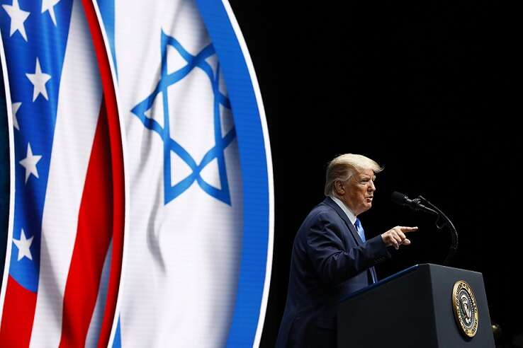 Trump: Israel has never had a better friend in the White House