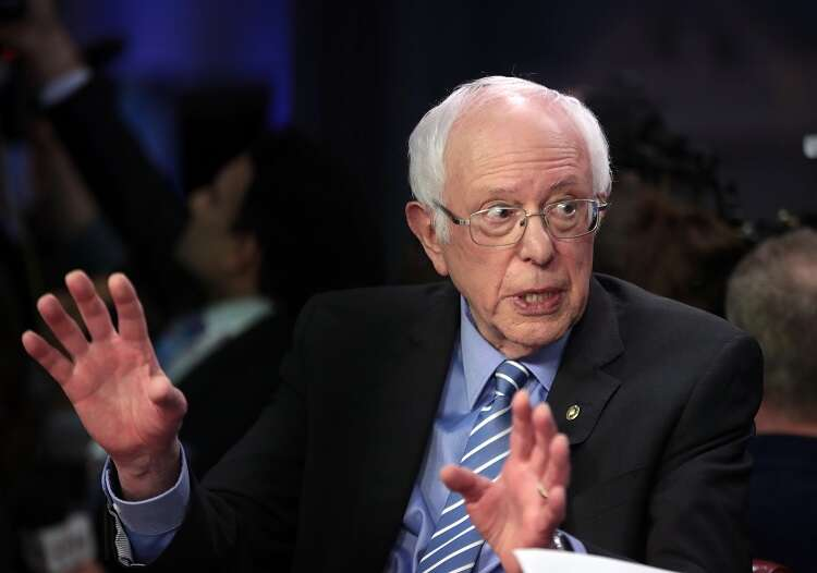 Sanders lashes out at Netanyahu, calls him 'reactionary racist'