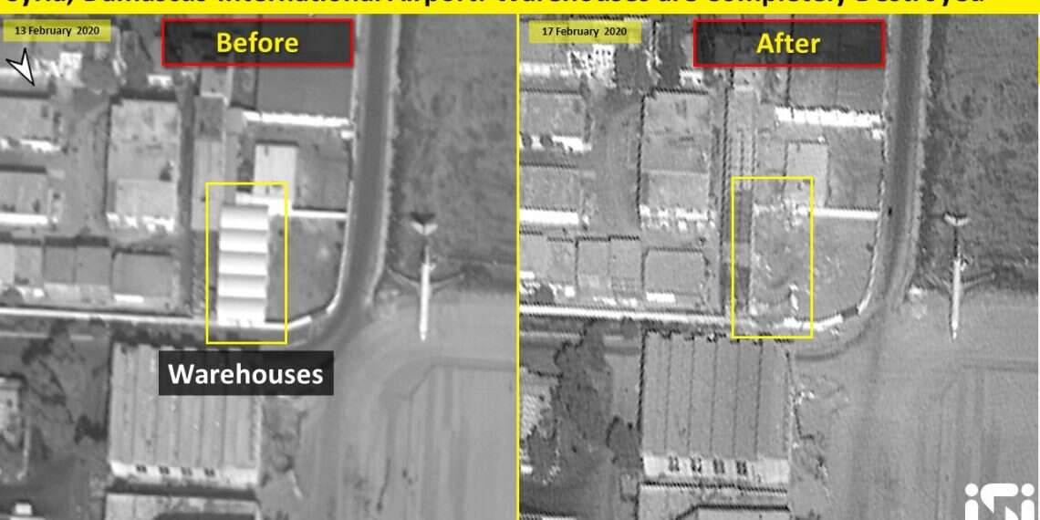 Satellite images show Iranian site destroyed by alleged Israeli strike in Syria