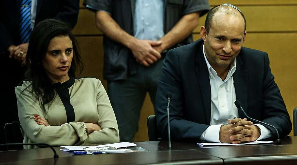 In dramatic shift, Yamina breaks with right-wing bloc to join the opposition