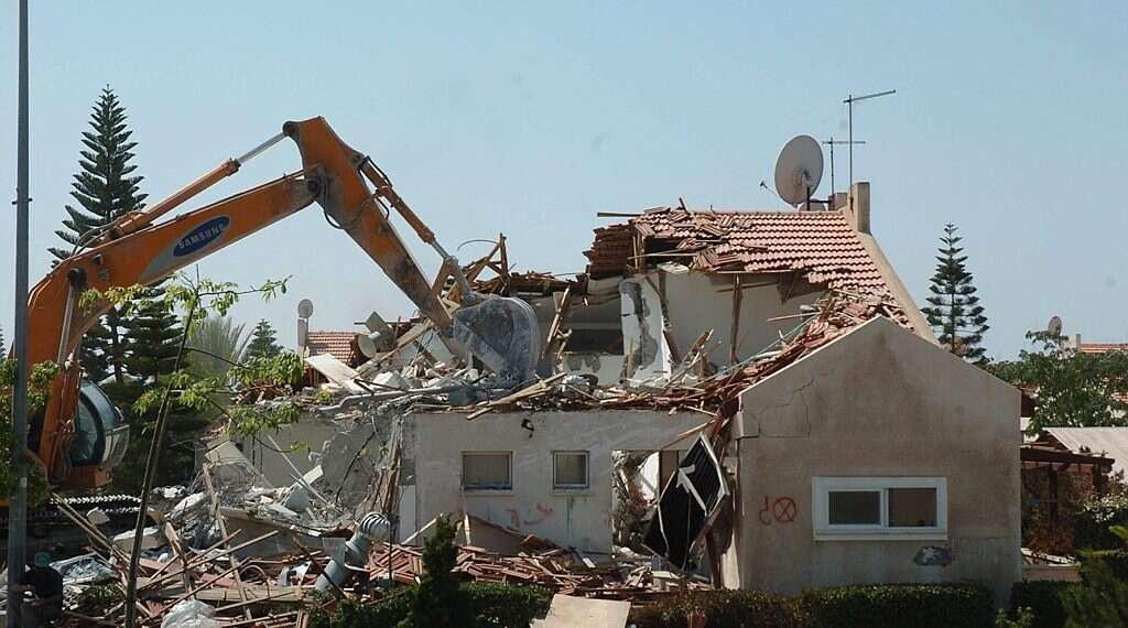 Israel's non-disengagement