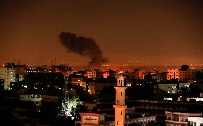 'Israel hit a secret rocket factory in Gaza,' Hamas official says