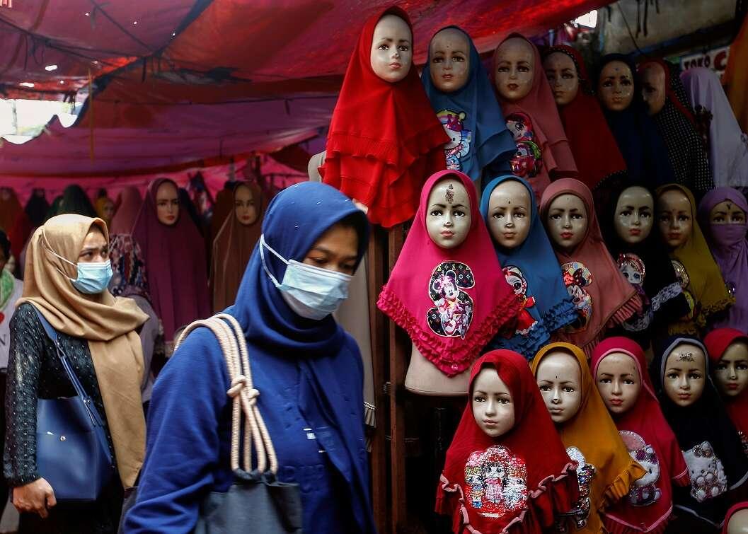 Hijab wearing of pics girls Four Women