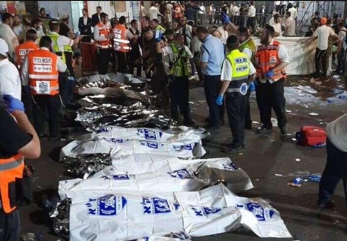 45 dead, 150 injured as disaster strikes Lag B'Omer festival at Mt. Meron