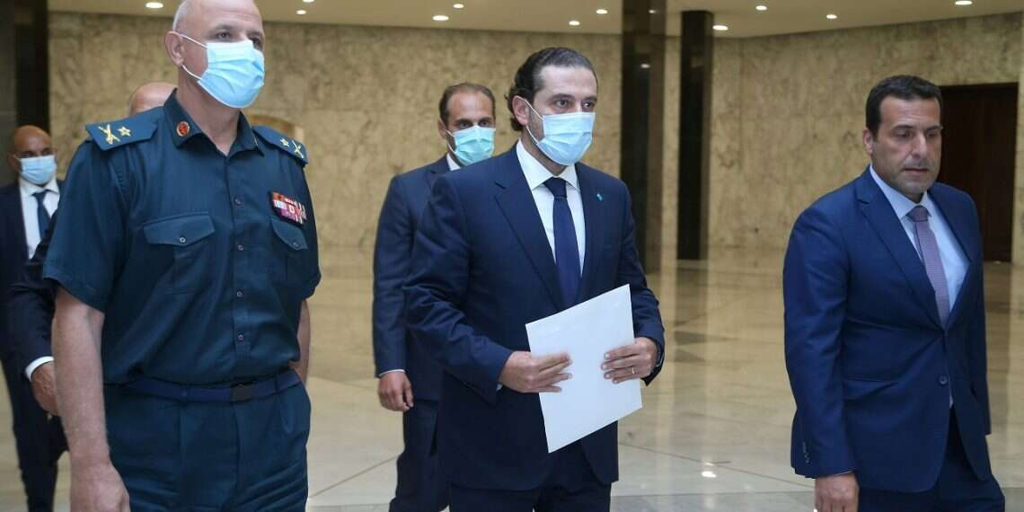Lebanese PM-designate Hariri awaiting response to new cabinet in 'moment of truth'
