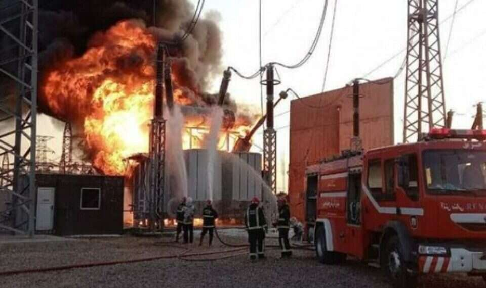Explosion hits power plant in northeastern Iran