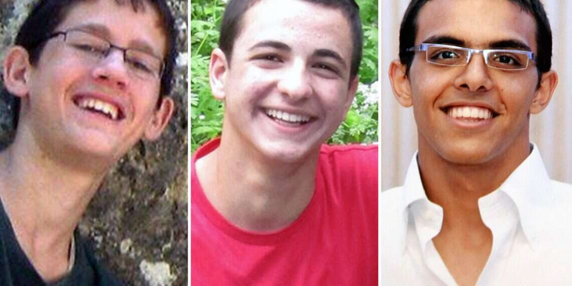 Court orders Hamas to compensate families of 3 murdered teens