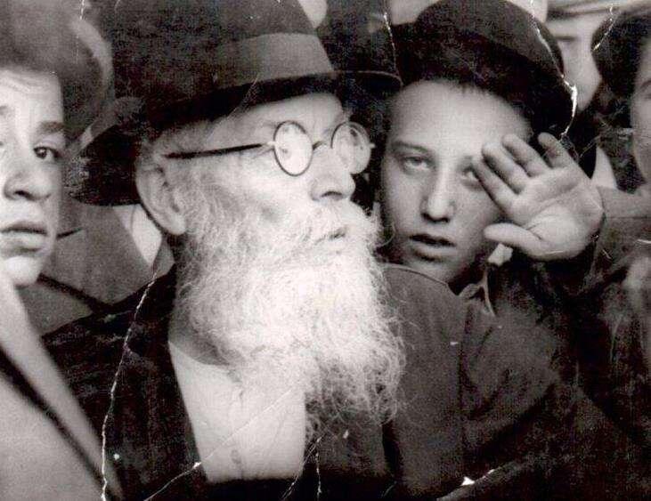 "The ""Hazon Ish,"" Rabbi Avraham Yeshaya Karelitz in 1952"